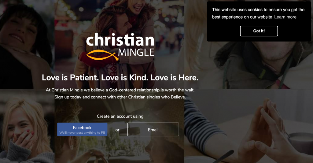 ChristianMingle Registration