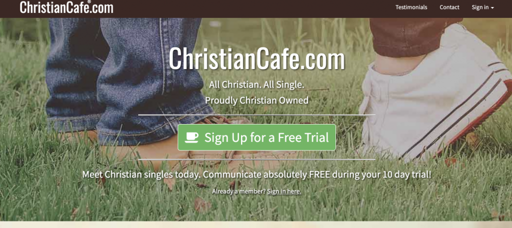 Dating Site ChristianCafe - Review