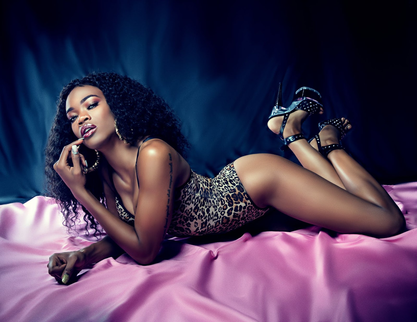 black hot woman